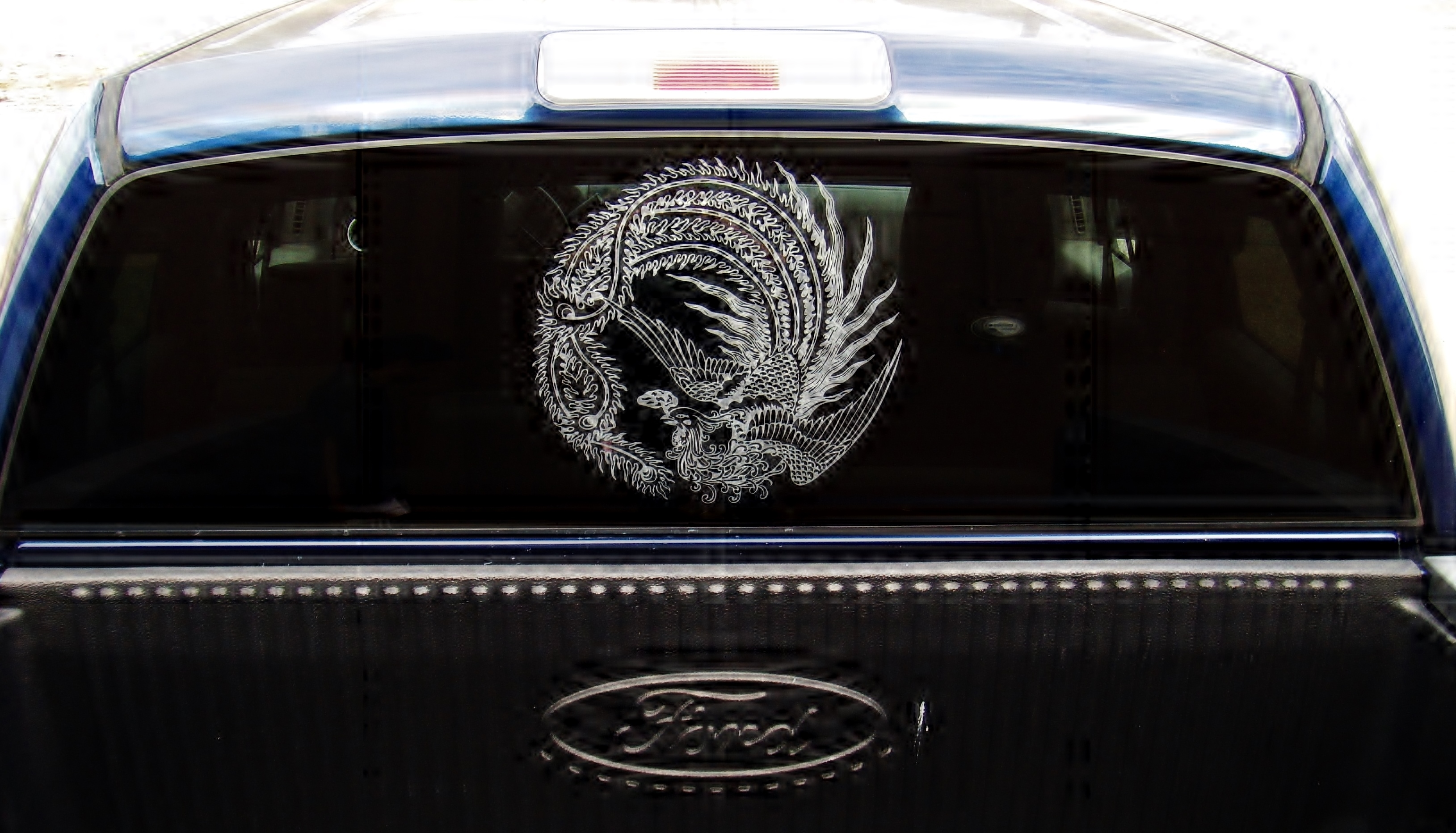 Auto Glass Etching