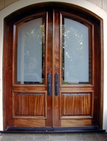 Services for Residential front doors with glass
